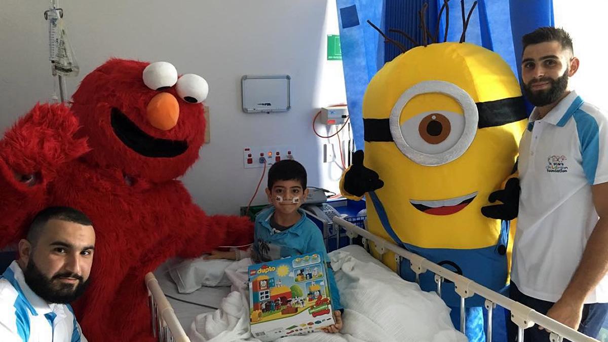Operation Christmas Visit to Sydney Children's Hospital