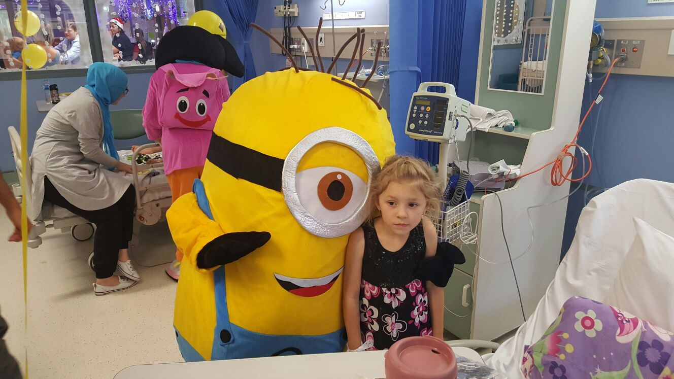 St George Hospital Children's Ward Christmas Party 2016
